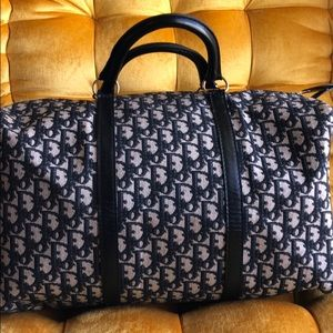 New Vintage Authentic Christian Dior Weekend Bag
